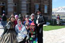 Our pics with the Lincolns!