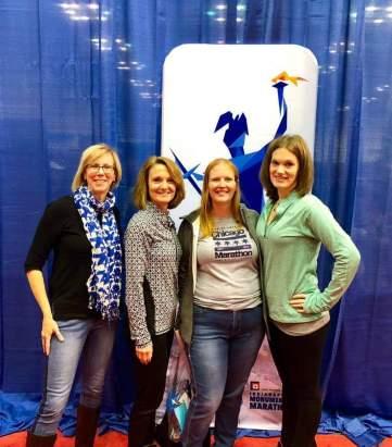 Jane, Maureen, ME, Kristen